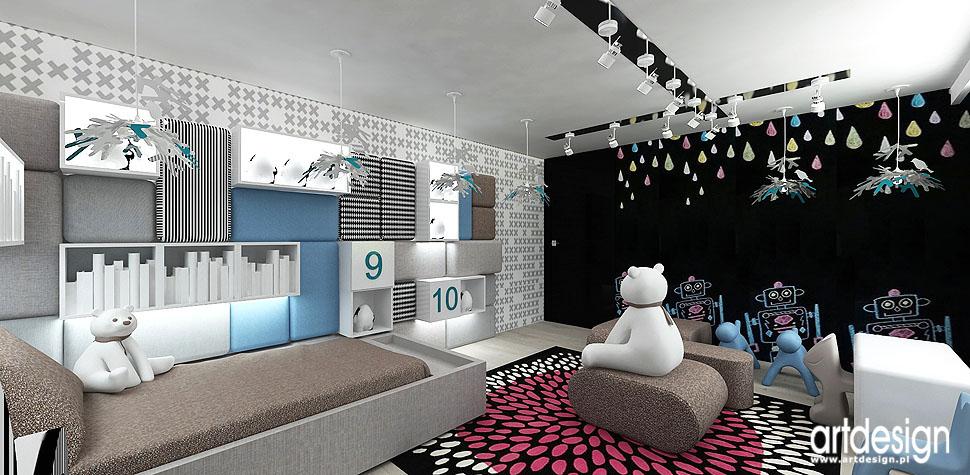 pokój dziecka wnętrza design projektanci