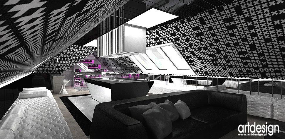 projektowanie wnętrz bilard rekreacja kino domowe