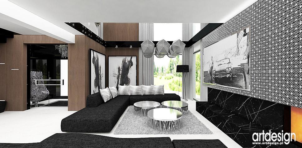 wnętrza design aranżacje salon dom