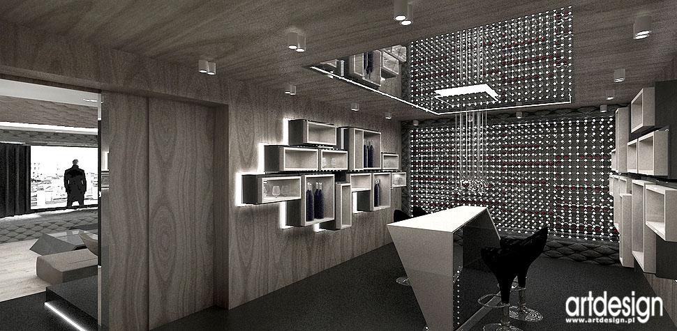 barek piwniczka na wino design rezydencja architektura wnętrza