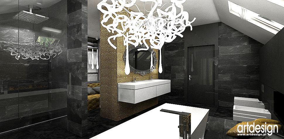 rezydencja łazienka wnętrza nowoczesne