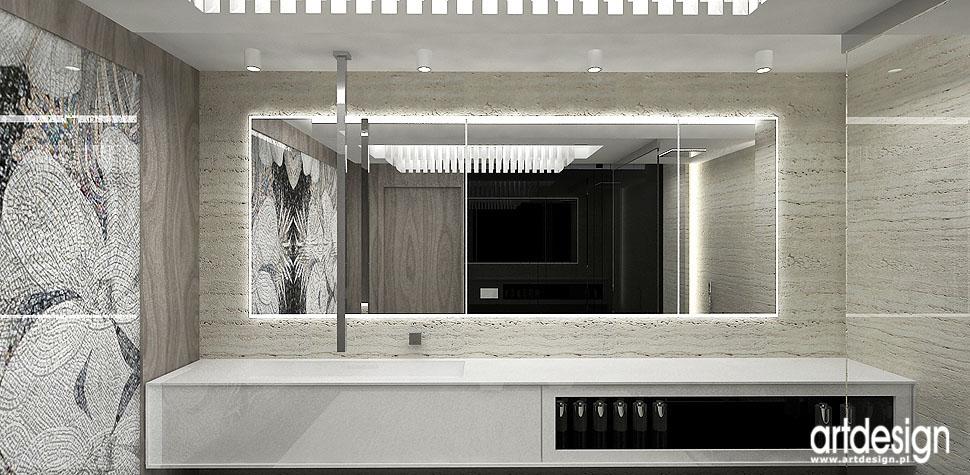 łazienka nowoczesna luksusowa aranżacje