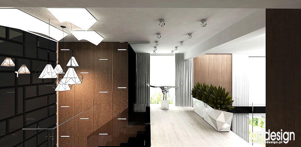 wnętrza antresola projekty wnętrz domów wspołczesnych