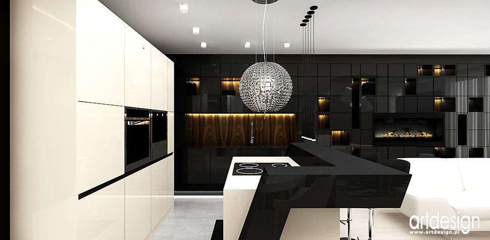 nowoczesna kuchnia wnętrza design
