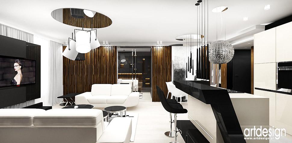 luksusowe wnętrza apatamentu