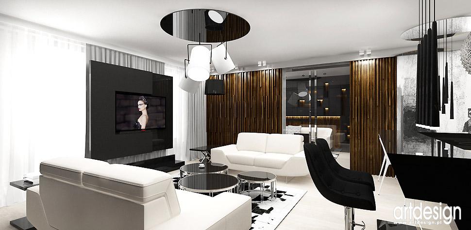 projektowanie wnętrza mieszkanie pokój dzienny