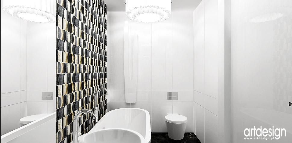łazienka projekty wnętrz