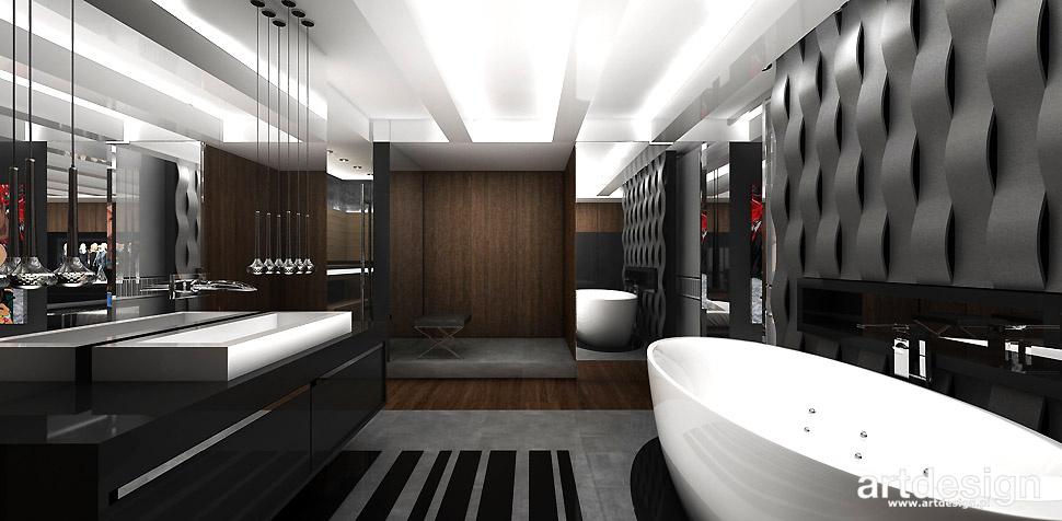 nowoczesna duża łazienka