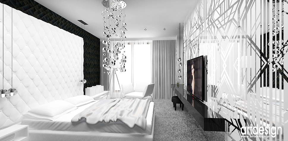 wnętrza sypialnia