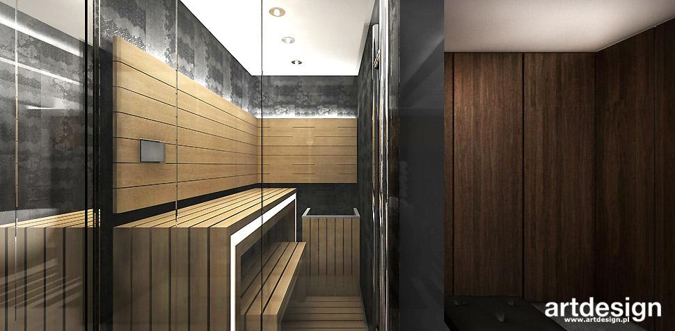 sauna w domu projekt