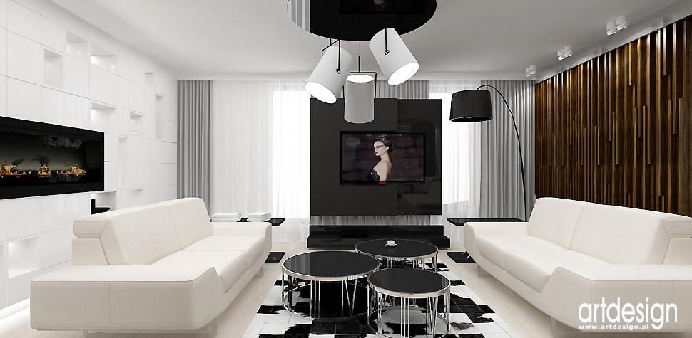 salon nowoczesny wnętrza