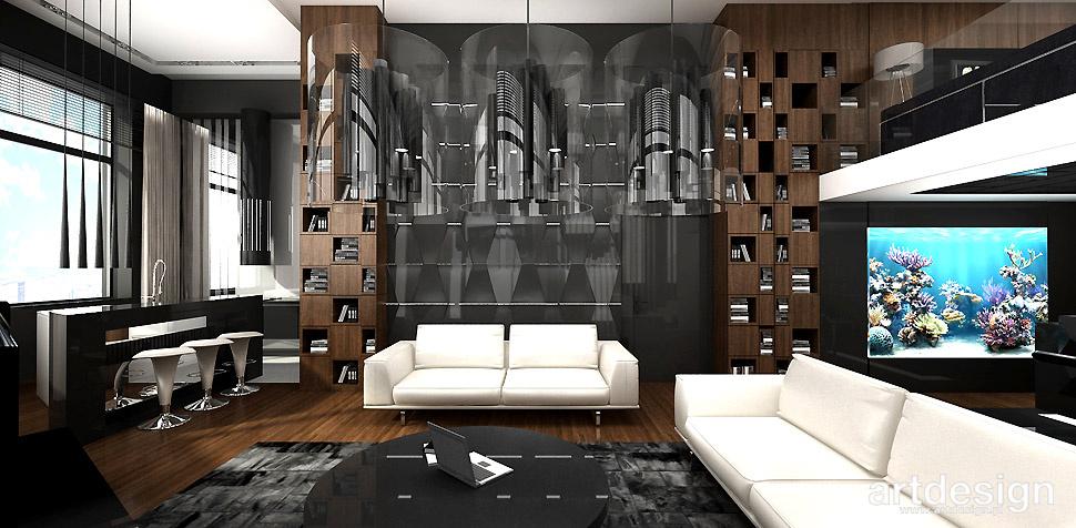 projektowanie wysokiego mieszkania