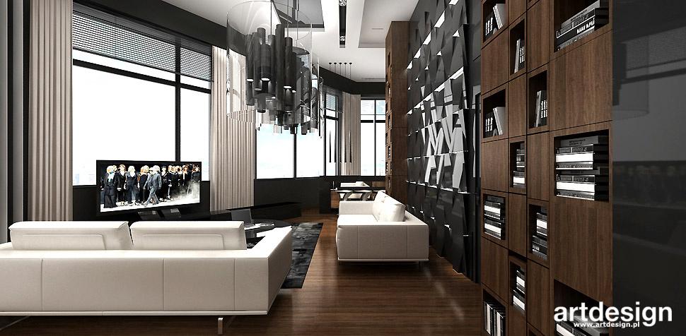 eleganckie wnętrza salonu