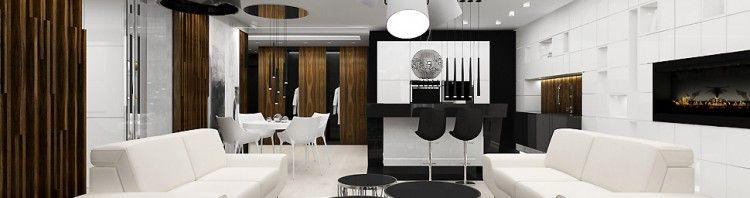 projekt apartament wnętrza