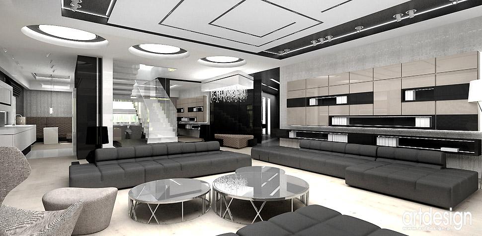 elegancki dom wnętrza aranżacje