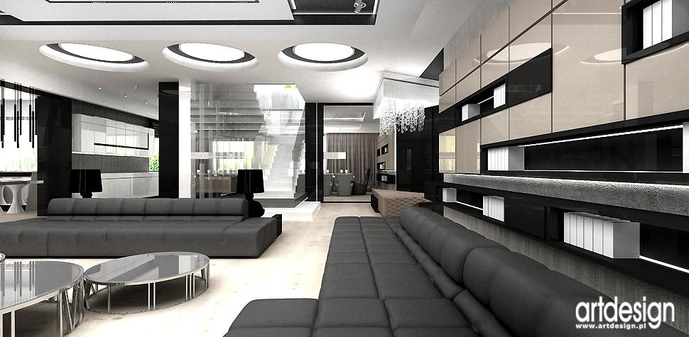 architekci wnętrz salon