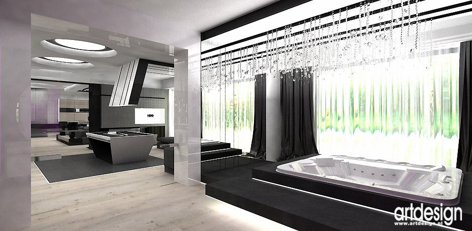 projektanci wnętrz spa w domu