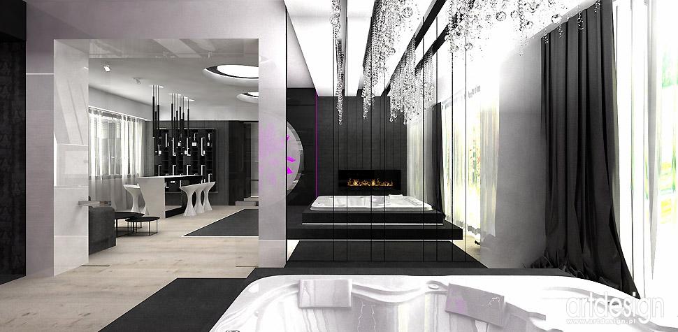 luksusowe domowe spa architekci wnętrz