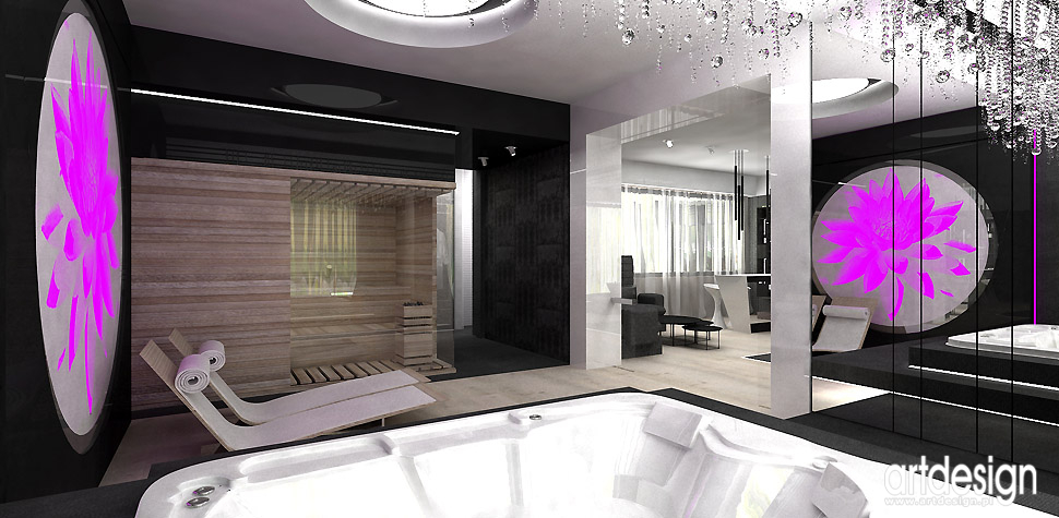 domowe spa projektant wnętrz