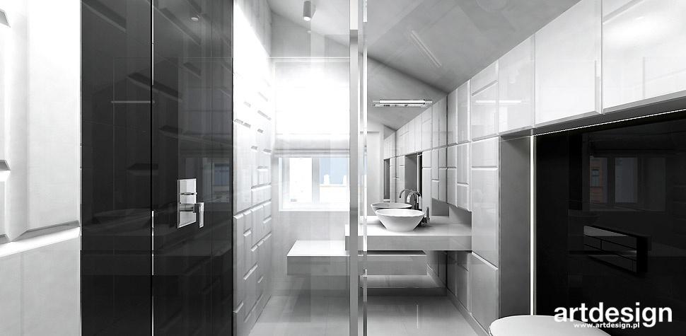 projekty łazienek architektura wnętrz
