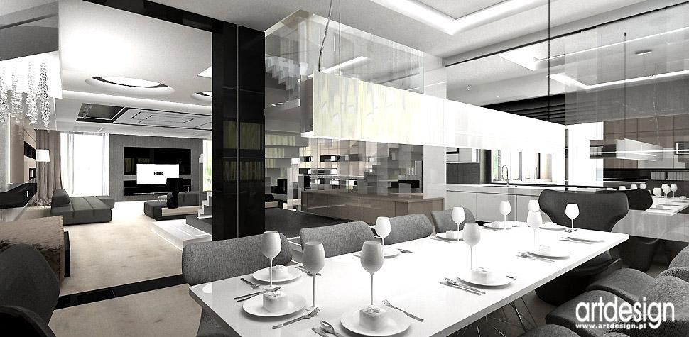 projektanci wnętrz nowoczesna jadalnia