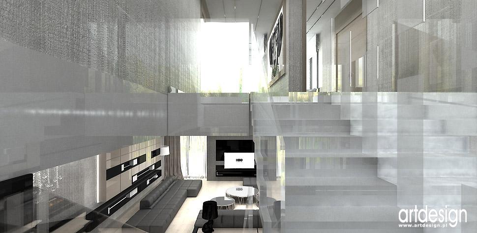 dom białe schody dom architektura