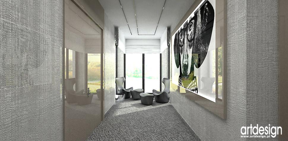 projektanci wnętrz hol korytarz