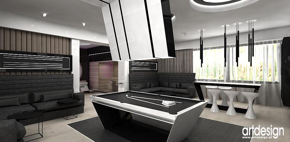 projektowanie dom rekreacja design