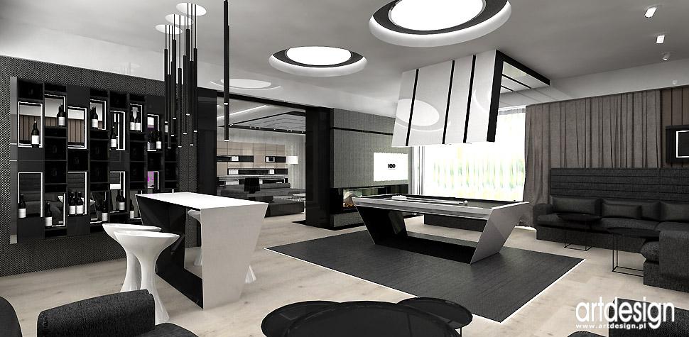 willa rezydencja projektowanie wnętrz