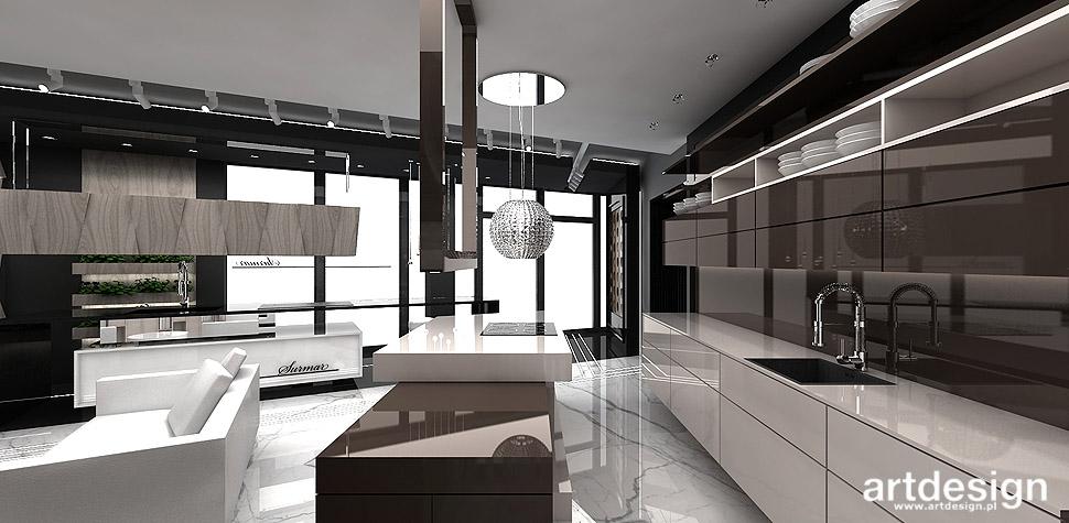 KITCHEN DESIGN IDEAS  SURMAR  Showroom  Projektowanie   -> Kuchnie Nowoczesne Lakierowane