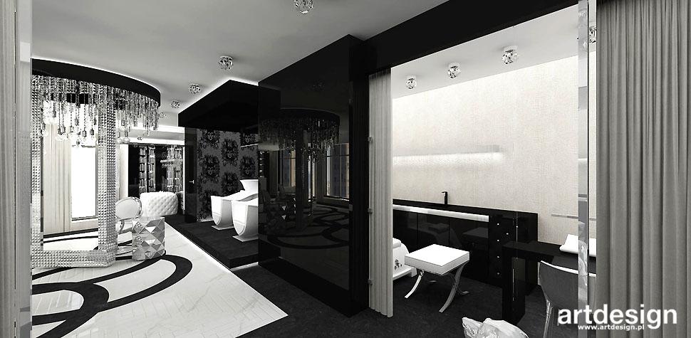salon kosmetyczny wnętrza nowoczesne
