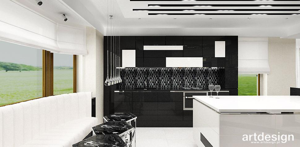 projekty kuchnia nowoczesna