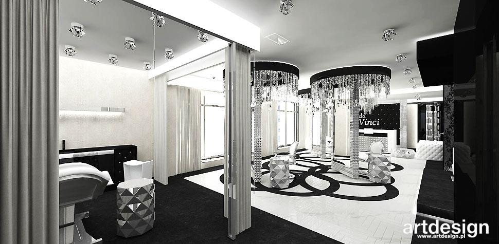 salon kosmetyczny manicure wnętrza