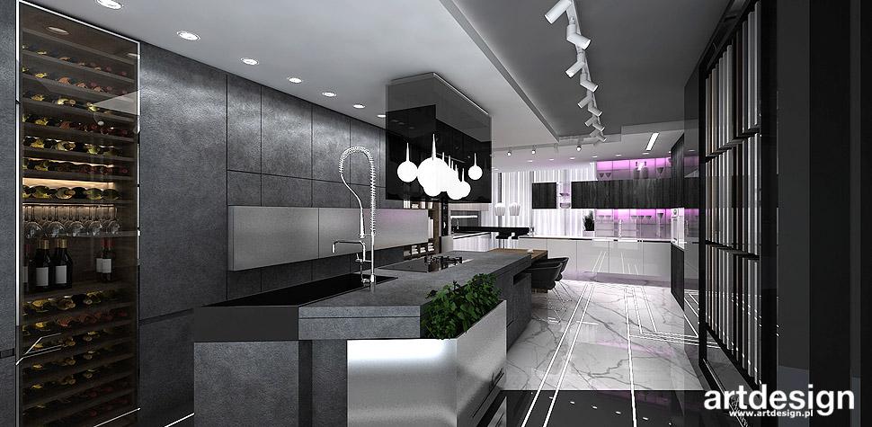 projektowanie kuchni wnętrza meble