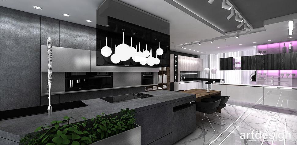 kuchnia loftowa wnętrza