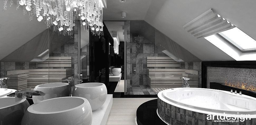 salon kąpielowy projekt wnętrze