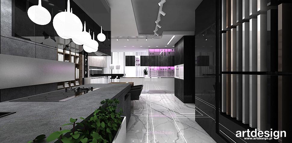 ekskluzywne wnętrza projekty kuchni