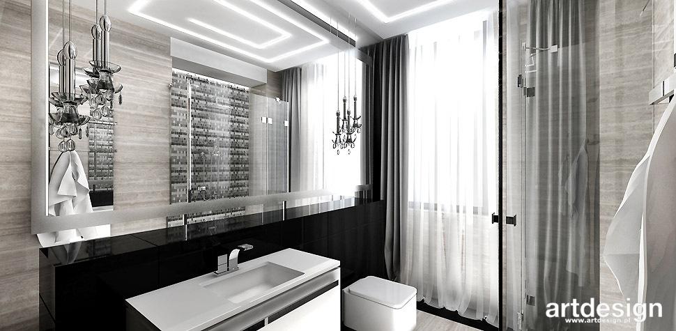 łazienka nowoczesna wnętrza
