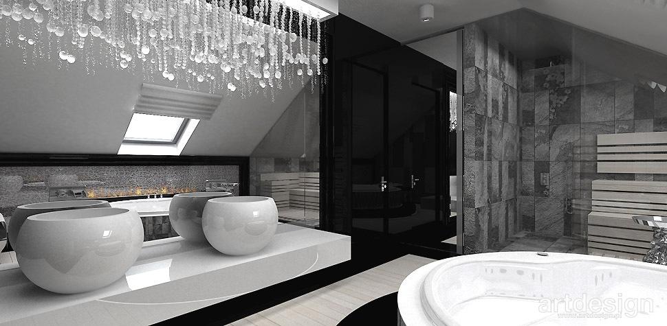 łazienka przy sypialni aranżacja