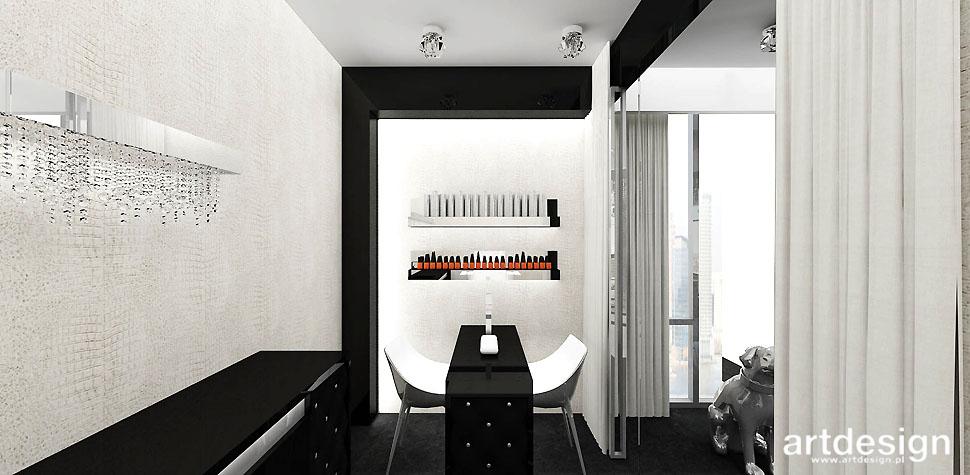 projektanci wnętrz gabinet kosmetyczny