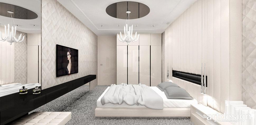 sypialnia apartament wnetrze
