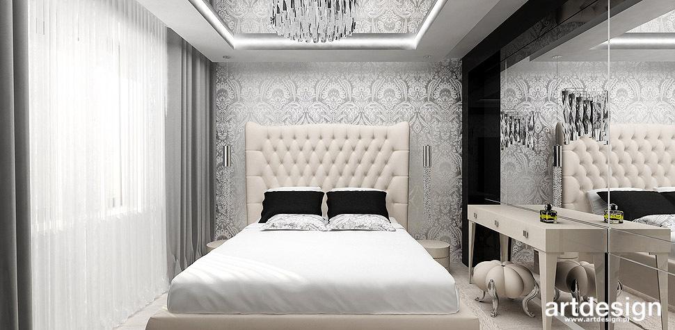 luksusowa sypialnia glamour
