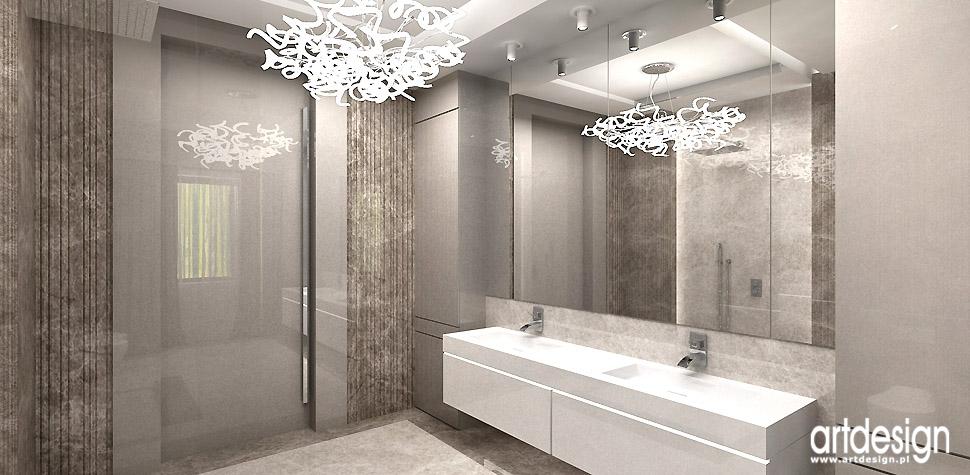 łazienki projektanci wnętrz