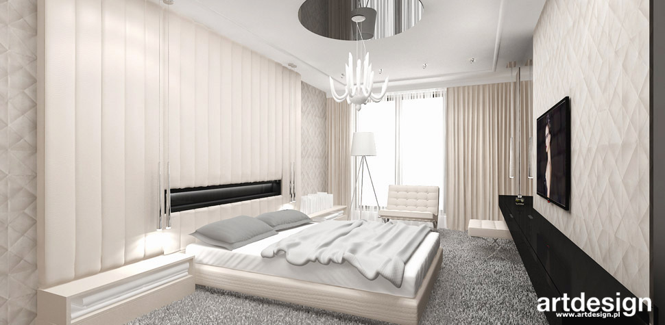 projekt jasna sypialnia