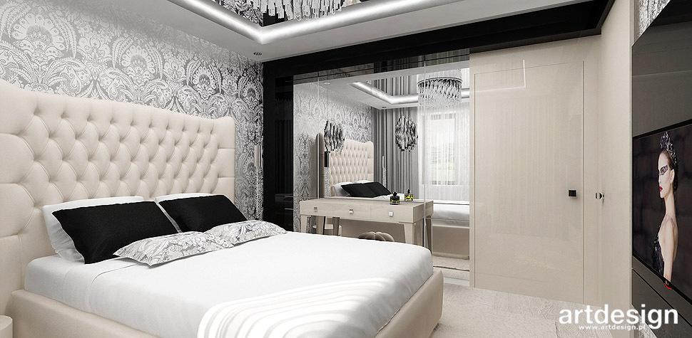 sypialnia eleganckie wnetrza