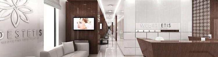 projektowanie wnętrz klinika recepcja