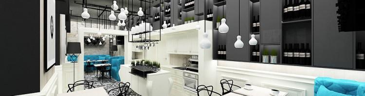 projekt wnętrz restauracji w krakowie