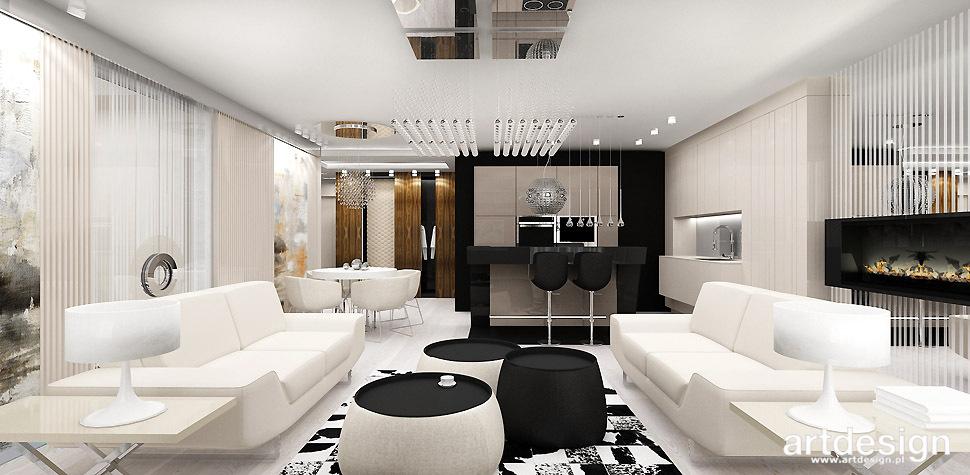 projekt apartamentu wnetrza