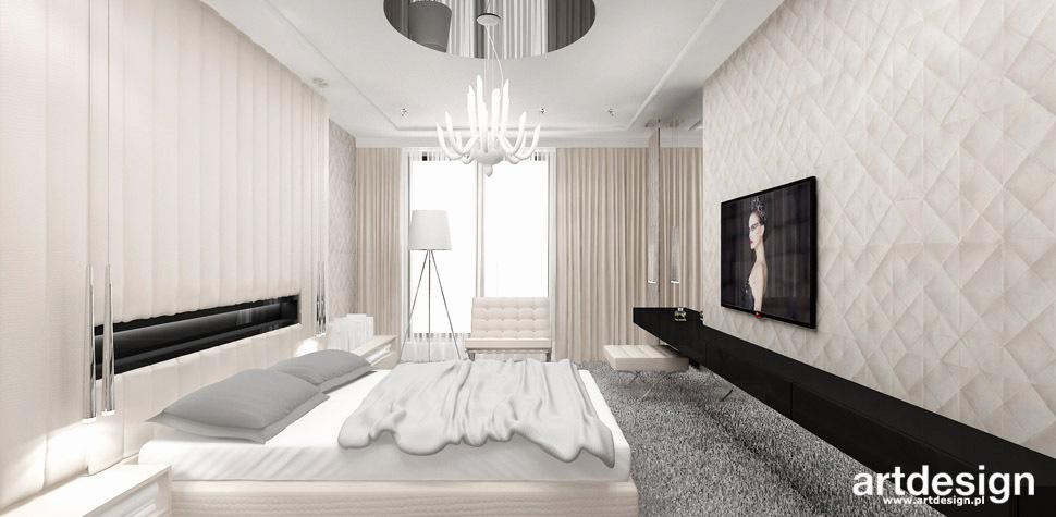 sypialnia nowoczesna wnetrze