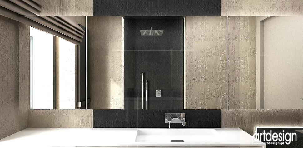 projektanci wnętrz nowoczesne łazienki
